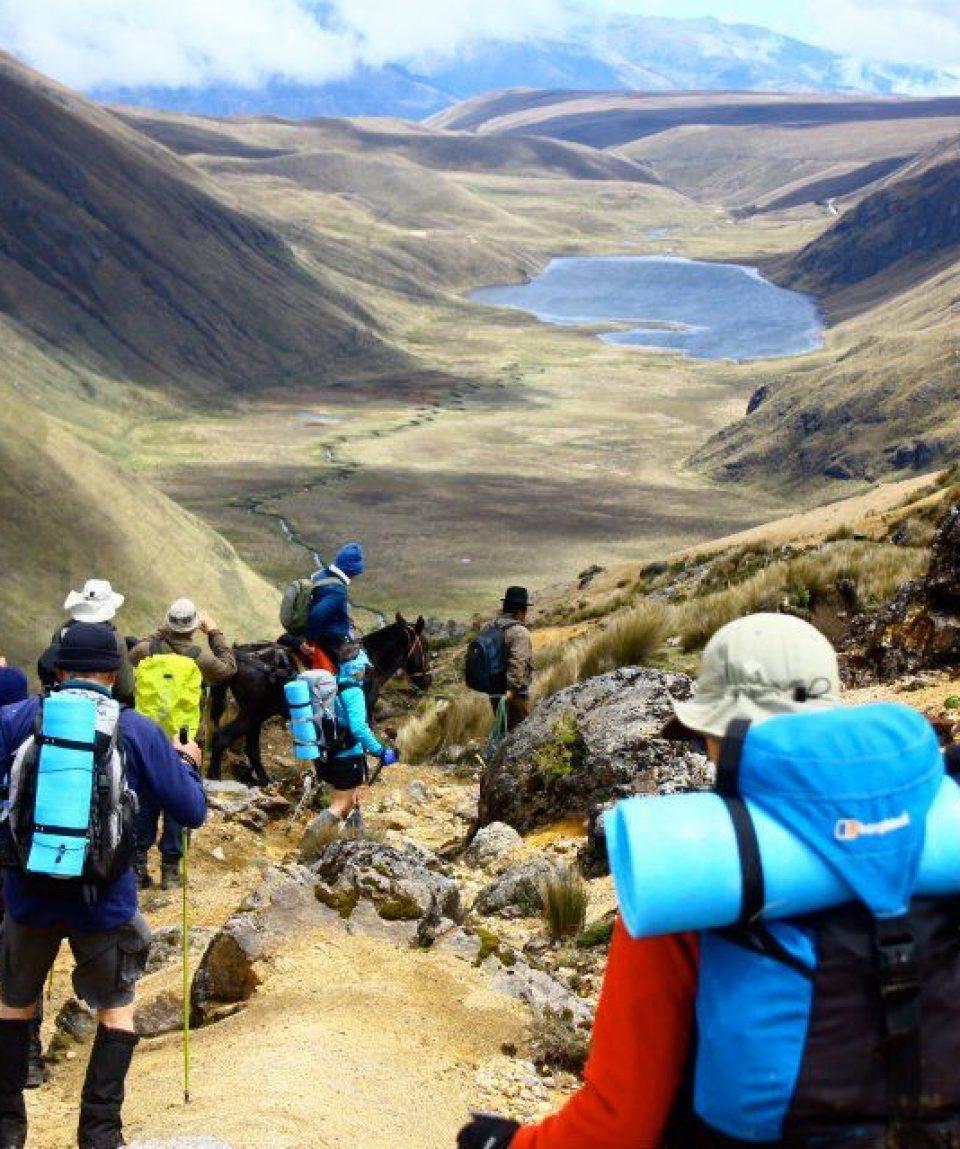 Ingapirka Inca Trail