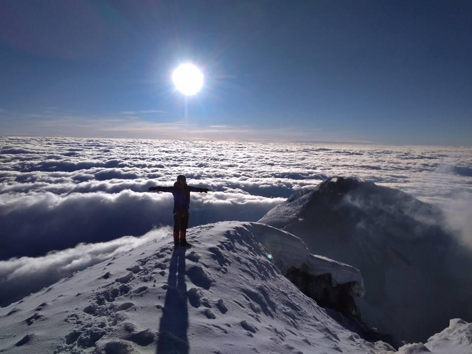 Climb Tungurahua