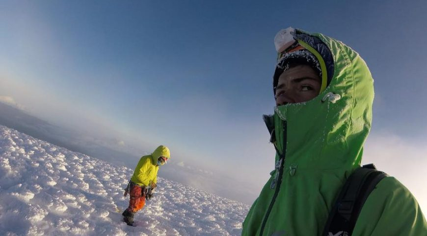Climb Chimborazo - July 2018